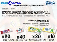 Misión para inscribir tercer y cuarto equipo de nuestro Mini-Torneo @PaintballRhinos @TumixCol #FrescuraQueDura :D