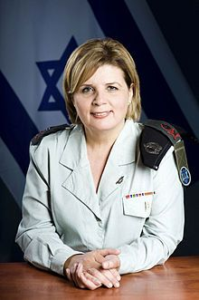 Meet Orna Barbivai, the first female ranking Aluf (Major General) in the Israeli Defense Forces