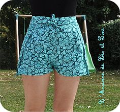 Sewing shorts easy free pattern 54 ideas for 2019 – BuzzTMZ Diy Clothing, Sewing Clothes, Barbie Clothes, Pantalon Thai, New Yorker Mode, Diy Shorts, Sewing Shorts, Wrap Pants, Diy Vetement