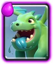 Resultado de imagem para clash royale baby dragon