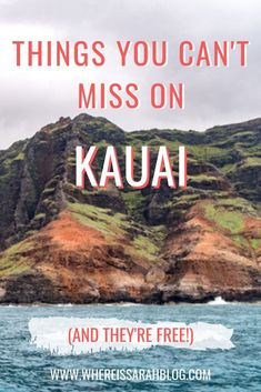 Kaua'i sounds attractive but also expensive right? It's actually possible to feel the charm of the beautiful island with these Free Things to do on Kaua'i. Kauai Vacation, Hawaii Honeymoon, Kauai Hawaii, Italy Vacation, Beach Trip, Hawaii Life, Vacation Ideas, Best Hawaiian Island, Hawaiian Islands