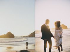 Intimate Big Sur Wedding | Pfeifer Beach Wedding | Real Weddings Blog | Once Wed // only place for a beach wedding