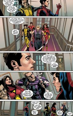"""Spider-Man and the Avengers. """"I'm actually a science nerd."""" Hawkeye is such a troll, haha. Marvel Art, Marvel Dc Comics, Marvel Heroes, Marvel Avengers, Comic Movies, Marvel Movies, Comic Books, Hawkeye, Thor"""