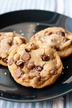 Salted Browned Butter Chocolate Chip Cookies - one of my all time favorite cookies!