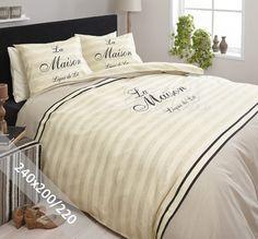 DreamHouse Dekbedovertrek - La Maison - Crème - 240x200-220 cm