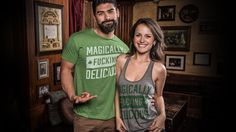 This Magically Fucking Delicious tee, poured straight from the brains of by our cereal-loving friends at Buy Me Brunch, is like watching a childhood favorite become adult-as-fuck overnight. Whether you're eating a moon, a rainbow, a clover, a balloon, a horseshoe, a pot of gold or a shot of Bailey's, you'll be ready for St. Patrick's Day. . .or, you know, just Saturday morning cartoons, with this all-marshmallow equivalent of a T-shirt.You have to admit. It is pretty fucking sweet.How Does…