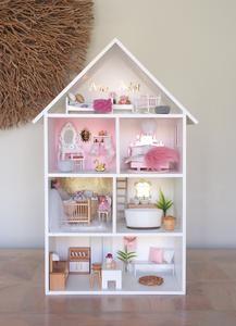 Barbie Doll House, Barbie Dream House, Diy Barbie Furniture, Dollhouse Furniture, Ikea, Doll House Crafts, Doll House Plans, Diy Dollhouse, Diy Toys