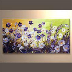 pinturas al oleo de flores abstractas - Pesquisa Google