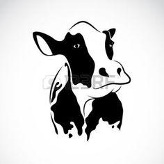 silhouet+koe%3A+beeld+van+een+koe