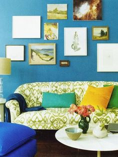 Ideas for blank wall space