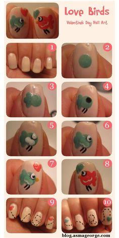 Valentines-Day-Nail-Art-Tutorial-2013-Love-Birds-Nails-1