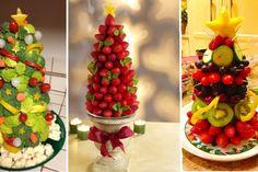 12 modèles de sapin comestible pour Noël! Plus mini tutoriel photo!