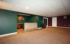 Custom Built Bar for Entertaining and Recreation Area