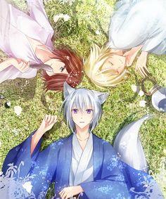 Tags: Anime, Fanart, Kamisama Hajimemashita, Pixiv, Kurose Nao | http://prettyprettyprince.tumblr.com