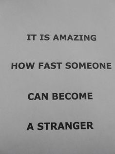 strange...and sad :(