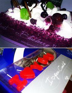 케익 케익 생일케익!     블루베리 요거트가 듬뿍!     0~10도 사이에 보관하세요~!