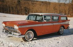 1958 Ambassador Custom Hardtop Cross Country Station Wagon
