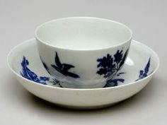 Cup and Saucer CAUGHLEY PORCELAIN FACTORY (ENGLISH, ACTIVE 1751–1783) 1751-1783