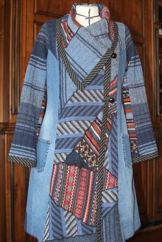 Pat Congleton - Upcycled Sweaters and Denim Jeans