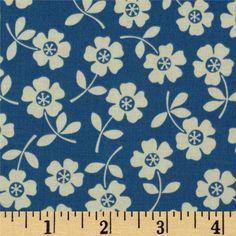 Seaside Bikini Blue - Discount Designer Fabric - Fabric.com