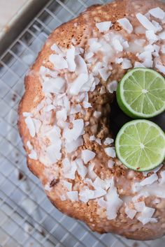 "DORIE GREENSPAN'S COCONUT CARDAMOM LIME TEA CAKE ~~~ this recipe share is from the james beard award winning book, ""baking: from my home to yours"" [Dorie Greenspan] [bloggingoverthyme]"