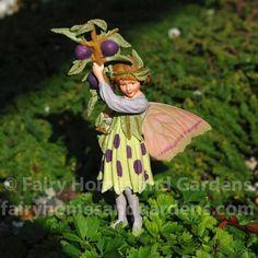 Fairy Homes and Gardens - The Sloe Fairy - Cicely Mary Barker Flower Fairies, $15.99 (http://www.fairyhomesandgardens.com/the-sloe-fairy-cicely-mary-barker-flower-fairies/)
