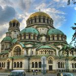 The Neo-Byzantine-style Alexander Nevski Cathedral is one of the most famous monuments in Sofia and is named after the Russian saint Alexander Nevsky who became famous by the expulsion of German knight orders of Russian territory in the century. Russian Architecture, Church Architecture, Amazing Architecture, Countries Around The World, Around The Worlds, Beautiful World, Beautiful Places, Beautiful Buildings, Sofia Bulgaria