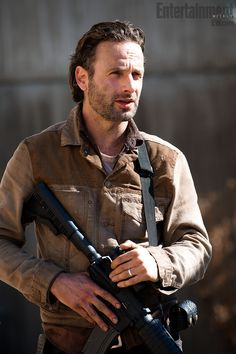 I'm still in love with Daryl most but..damn Rick....lookin good