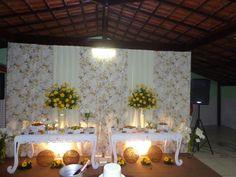 decoração de festas infantis e festas em geral Brandaojed: Casamento Amarelo