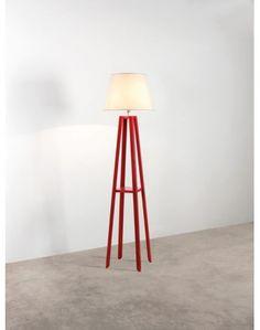 Coluna Vermelha Algodão Crú - R$565,00