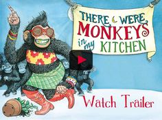 Interactive children's book for the iPad • There Were Monkeys in my Kitchen. Have Sheree Fitch read it aloud to you. Some interactive elements. $3.99 Interactive Books For Kids, Monkeys, Children's Books, Literacy, Ipad, Classroom, Reading, Kitchen, Class Room