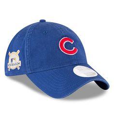 a3d27c28640 Chicago Cubs 2017 Postseason Side Patch 9TWENTY Adjustable Hat by New Era®