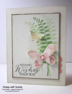 Butterfly Wishes by stampwithsandy - Cards and Paper Crafts at Splitcoaststampers