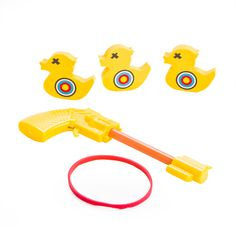 Roll up, roll up, and try your luck at this Desktop Rubber Band Duck Shooting Game! Fairground Games, Rubber Band Gun, Duck Tales, Shooting Games, Knock Knock, Cool Gifts, Ems, Pikachu, Desktop