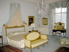 The Belgian Suite at Buckingham Palace-where William and Kate spent their wedding night.