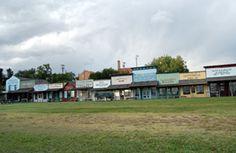 Dodge City Front Street and Boot Hill Museum  http://www.legendsofamerica.com/ks-dodgecity.html