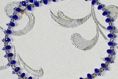 Free pattern for necklace Faberge