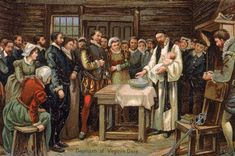 "1587 – Virginia Dare, granddaughter of Governor John White of the Colony of Roanoke, becomes the first English child born in the Americas. | What happened to the ""Lost Colony"" of Roanoke? — Ask HISTORY ..."