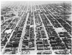 Arial Photo of the East End, 1930's