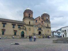 IGLESIA DE MONGU� BOYAC�............. Sitios tur�sticos de Colombia