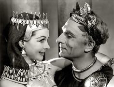 Vivien Leigh & Laurence Olivier - Caesar and Cleopatra (1952 Play)