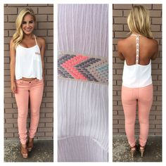 Shopping Online Boutique Tops & Tanks Page 4 New Outfits, Cool Outfits, Summer Outfits, Casual Outfits, Fashion Outfits, Badass Style, My Style, Lace Outfit, Whimsical Fashion
