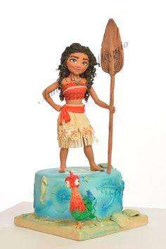 Anna Rosa Maggio cake design - #Oceania #SognaOceania #cakedesign #cakedesignitalia #Vaiana