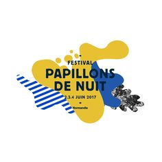 """The Papillons de Nuit Festival has renewed its trust in Murmure to design its visual identity. A special request was made this year: to pay tribute to the Monterey Pop Festival """"Music, Love and Flowers"""". Website Design, Web Design, Brand Design, Retro Design, Music Festival Logos, Festival 2017, Logo Professionnel, Plakat Design, Retro Logos"""