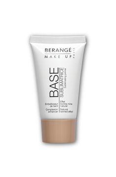 Obtenez un effet bonne mine grâce à la base sublimatrice Berangé Make-up. Sa formule fluide, et fraîche à l'application, fond sur la peau et unifie le teint. Elle contient du sel de mer et de la vitamine E aux vertus bienfaisantes et anti-oxydantes.  Sa teinte universelle s'adapte à toutes les carnations pour un effet seconde peau.  Testé sous contrôle dermatologique  #beauty #makeup #foundation #teint #maquillage