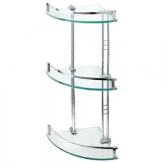 Glass shelves For Clothes - Glass shelves In Bathroom Ideas - - Floating Glass shelves Bookshelves - Glass shelves Kitchen Decor Glass Corner Shelves, Bathroom Corner Shelf, Floating Glass Shelves, Glass Shelves Kitchen, Kitchen Decor, Vanity Shelves, Shower Shelves, Shelf Furniture, Shops