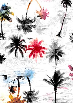 Beach House - Lunelli Textil | www.lunelli.com.br Website Design, Web Design, Logo Design, Textile Pattern Design, Textile Patterns, Print Patterns, Textile Prints, Textiles, Graphic Prints