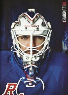 Henrik Lundqvist - NY Rangers 2013-2014 Yearbook