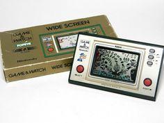Nintendo Game & Watch Wide Screen Popeye PP-23 Boxed MIJ 1981 Free Shipping!_03 #Nintendo