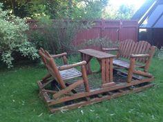 Chaise suspendue style rotin avec coussin - Cadre en acier - Canac ...